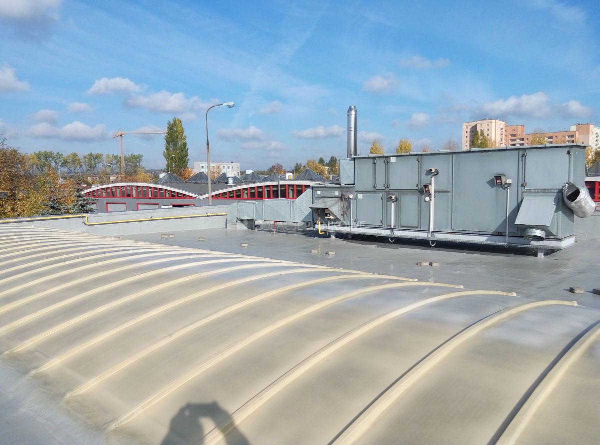 elastomer dach