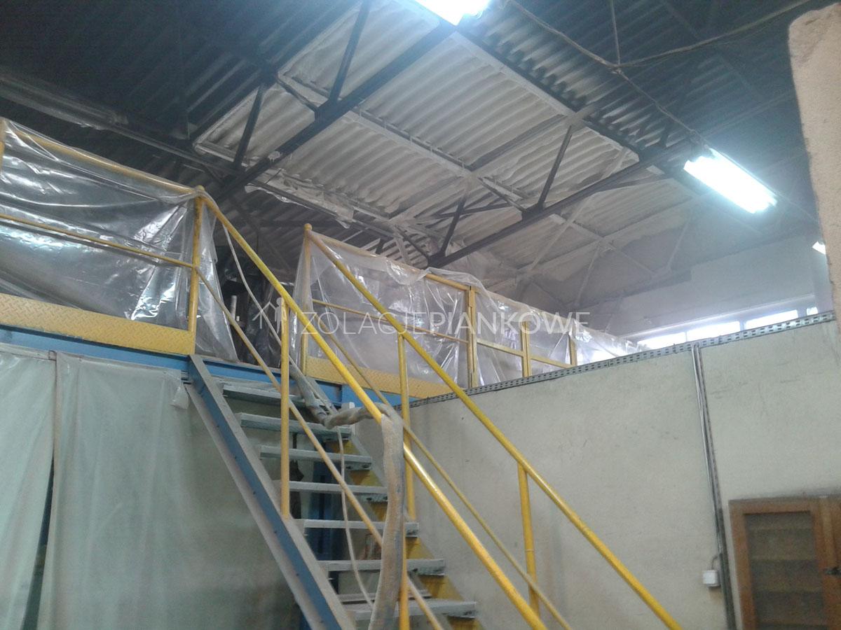izolacja pianką budynków przemysłowych