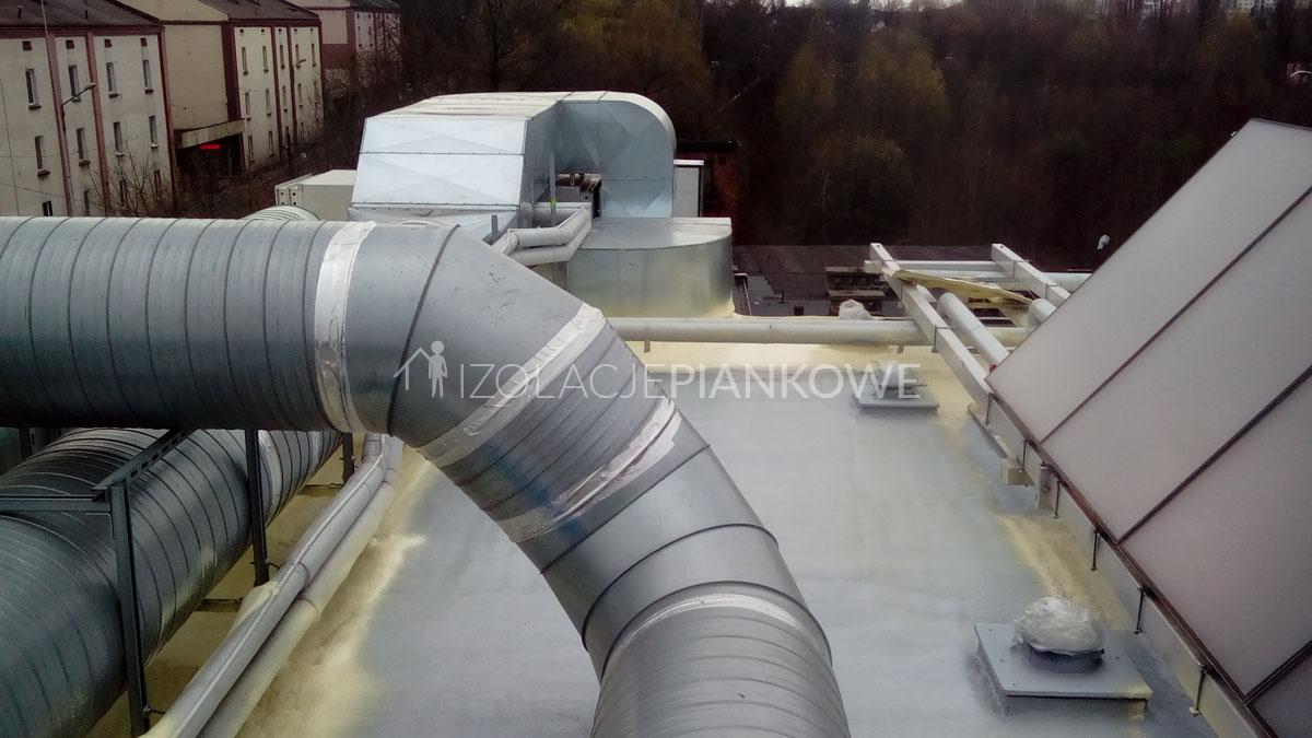 izolacje natryskowe dach