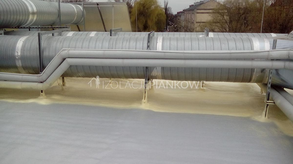 izolacje piankowe dach