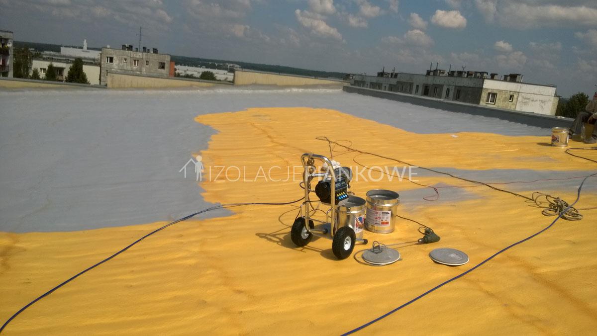 malowanie dachu piana pur