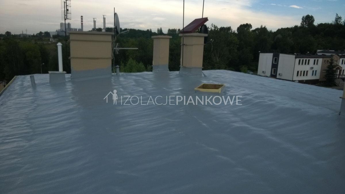 malowanie pianek dachowych
