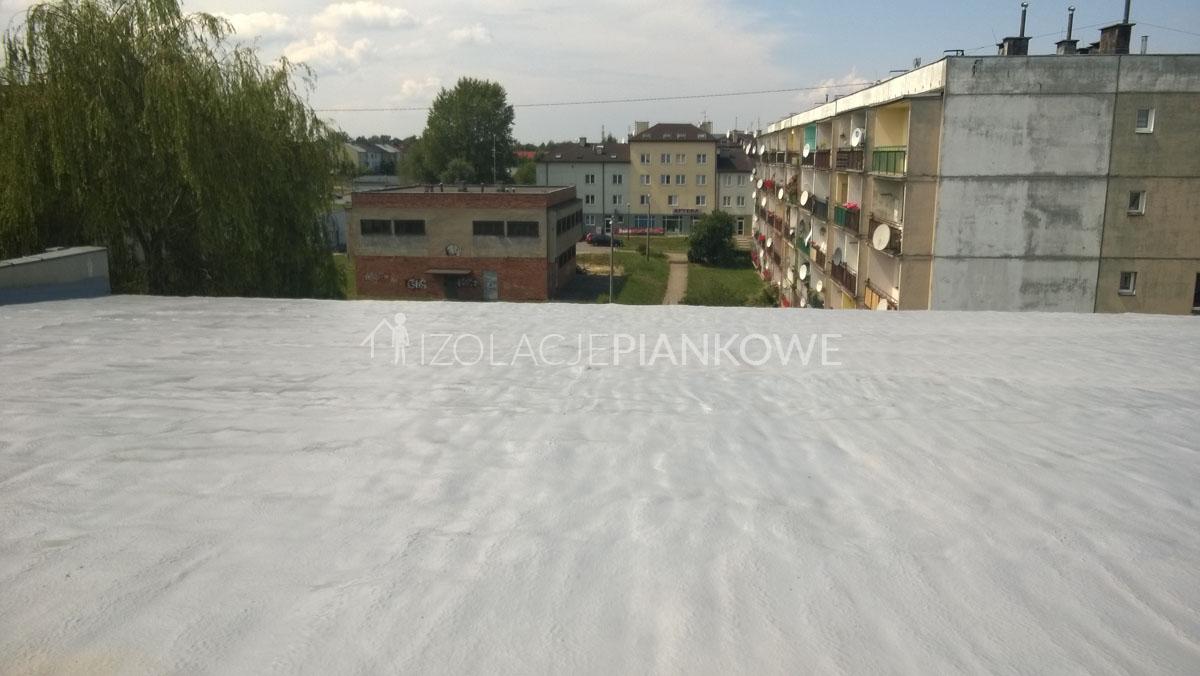 modernizacja dachu pianka PUR