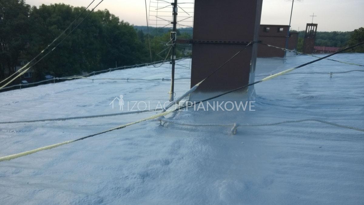 ocieplenie dachu piankowe