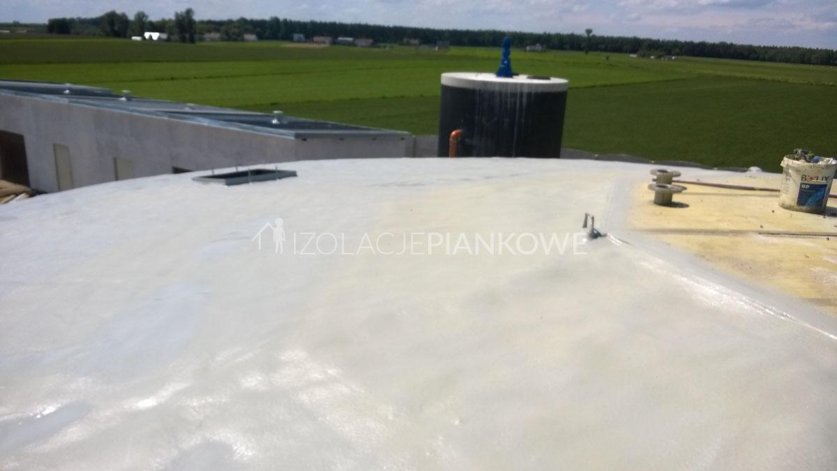 polimocznikowa ochrona dachu